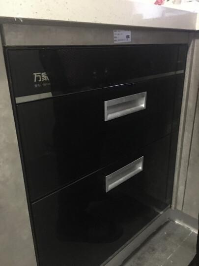万家乐(Macro)D862嵌入式一星级紫外线+臭氧消毒柜100L大容量消毒碗柜智能童锁家用 晒单图