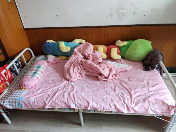 顺优 折叠床单人沙发床午睡午休床陪护床简易床80cm宽 E1级环保板SY-018 晒单图