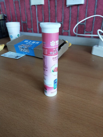 康恩贝 维生素c泡腾片 维c泡腾片 VC果味饮品柠檬味4g*20片 成人儿童 晒单图