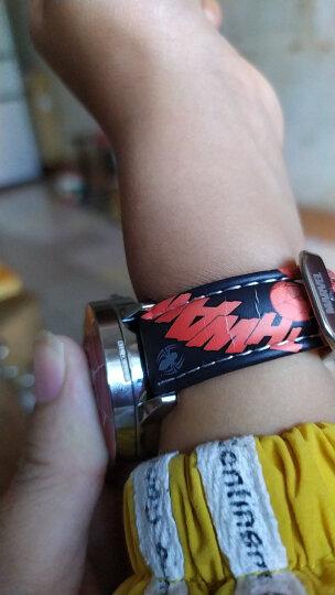 迪士尼儿童手表男孩 美国队长小学生手表 蜘蛛侠 黑色 晒单图