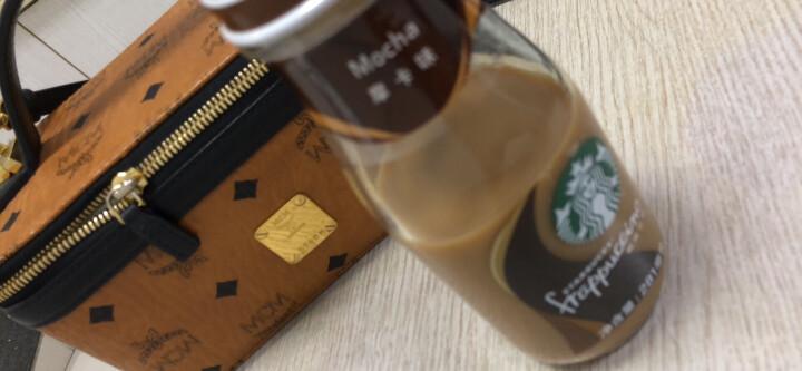 星巴克星冰乐咖啡奶茶281ml*6瓶礼盒装(摩卡 咖啡 焦糖 香草 抹茶) 香草味咖啡 晒单图
