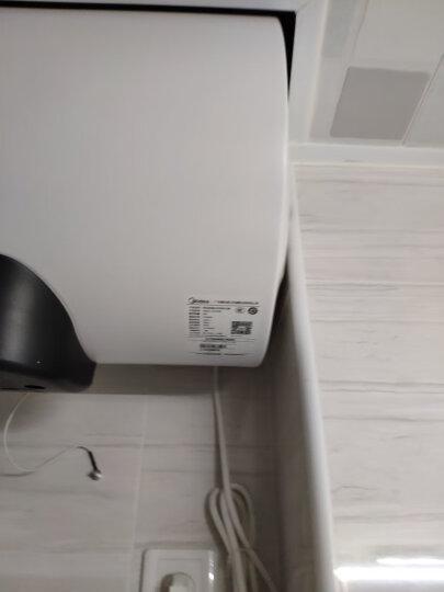 美的(Midea)2100W速热电热水器60升 无线遥控预约洗浴 一级节能一键保温加长防电墙F60-15WB5(Y) 晒单图