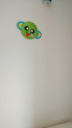 乐哲 儿童手工diy制作材料包彩色纸盘子创意粘贴画幼儿园玩具贴纸3-6岁男女孩亲子互动玩具 动物十只装 晒单图