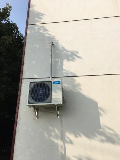 美的( Midea) 260升空气能电热水器 E+蓝钻内胆 分体式家用260L电热水器  KF105/260L-MI(E4) 晒单图