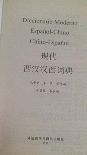 外研社现代西汉汉西词典 晒单图