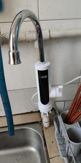 志高(CHIGO) 电热水龙头 即热式电热水器 厨房下进水快速热加热 小厨宝 侧进水【冷热两用/智能数显/两年换新】 赠漏保 晒单图