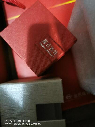 菜百首饰 黄金戒指 足金3D硬金蝴蝶结戒指 计价 足金 约1.40g 约13号 晒单图
