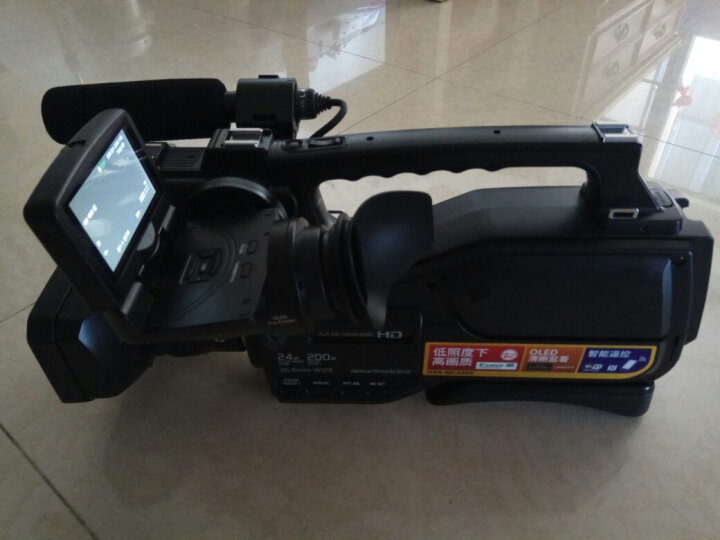 索尼(SONY)专业摄像机 PMW-EX330R肩扛式摄录一体机 晒单图