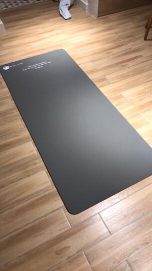 弥雅(MIYA UGO)升级版瑜伽垫185*80cm 加长加宽加厚健身运动垫子 10mm灰色(含绑带网包) 晒单图