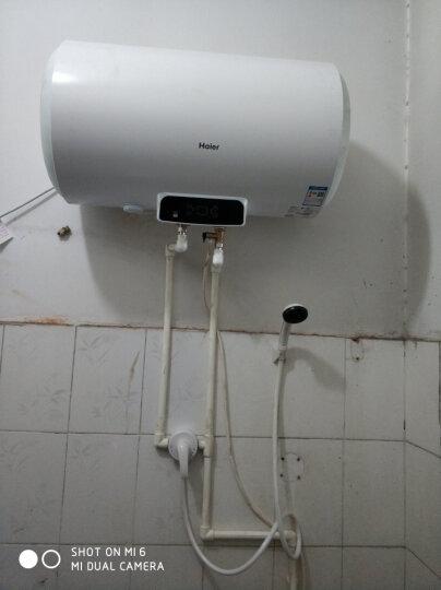 海尔(Haier)60升电热水器 2000W变频加热 多重安防预约 专利2.0安全防电墙EC6002-Q6 晒单图