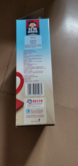 桂格 早餐谷物 不含反式脂肪酸 醇香燕麦片红枣高铁540g (27g*20袋)(新老包装替换中) 晒单图