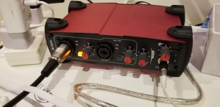 艾肯ICON Utrack 艾肯声卡手机外置电脑通用网络直播录音电容麦克风主播直播设备声卡套装 艾肯Utrack声卡 晒单图