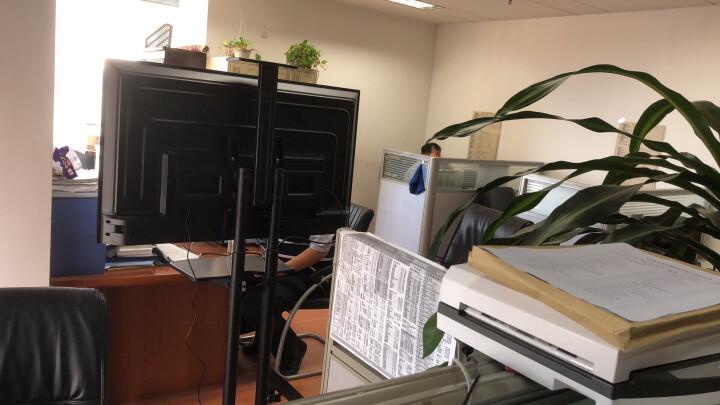 NB AVT1800-100-1P(60-100英寸)液晶移动电视推车落地教学视频会议电子白板支架挂架显示器触摸一体机支架黑 晒单图