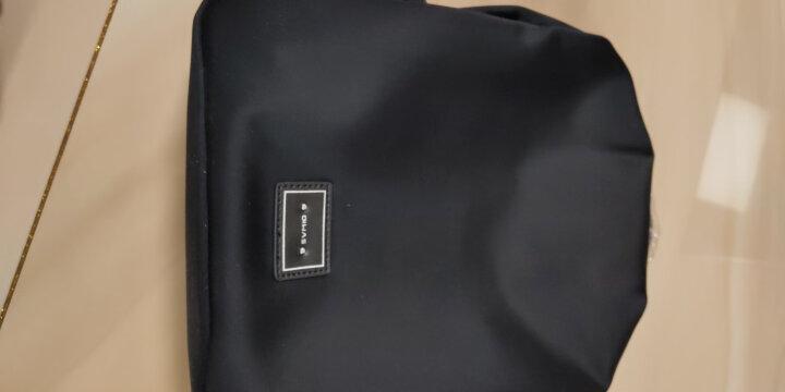 爱华仕(OIWAS)双肩包女韩版潮流女包 时尚休闲女士背包简约包包女书包 AOCB1659黑色 晒单图