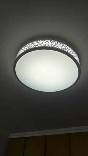 松下(Panasonic)吸顶灯LED遥控调光调色客厅卧室灯具金色铁艺装饰框HHLAZ1821 晒单图