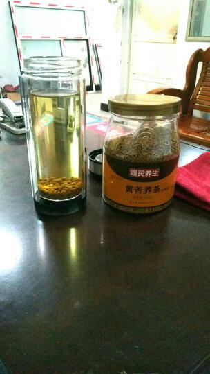 暖民 全株苦荞茶350克x2罐装 四川大凉山黄苦荞特产级苦荞麦茶正品 晒单图