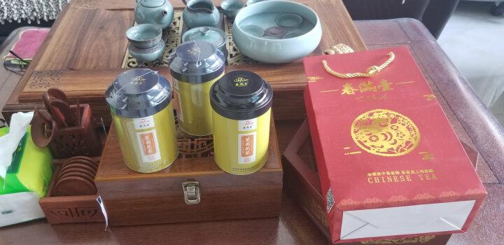 春满壶 茉莉花茶 新茶 茶叶 浓香型特级茉莉龙珠125g*2罐共250克半斤装 晒单图
