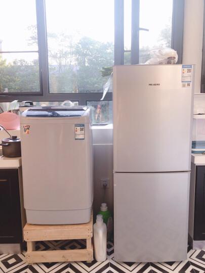 美菱(MELING)181升双门大冷冻 省电静音 家用两门冰箱 租房优选 小冰箱 亚光银 BCD-181MLC 晒单图