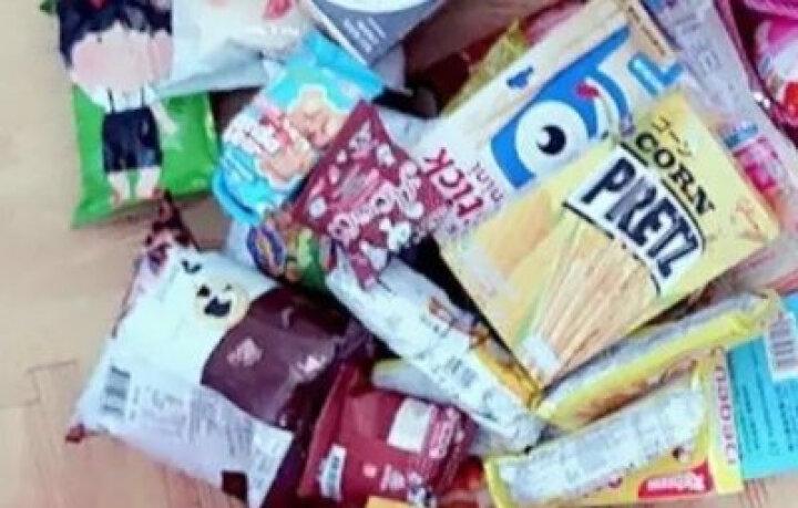 儿童专属原创零食大礼包健康营养整箱组合吃货混装送小孩生日宝宝喜欢送学生学习奖励好吃的糕点饼干蛋糕礼物 快乐的孩子套餐B 晒单图