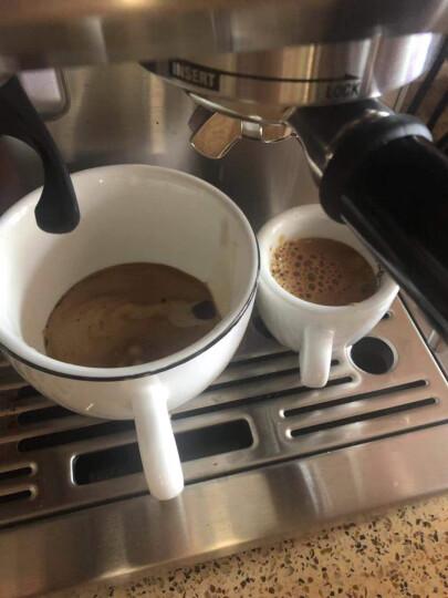 铂富Breville 半自动家用意式咖啡机 磨豆打奶泡 家用 BES870 银色 晒单图