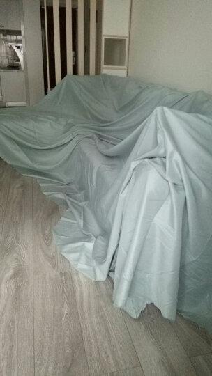 美澳雅兰 沙发遮盖防尘布盖布 盖床防尘罩 家具遮灰布挡尘布防尘布遮尘防尘盖巾 深灰 1*2.7米 茶几书桌 晒单图