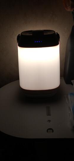 美的(Midea)LED创意礼品台灯 蘑菇小夜灯 触碰感应床头灯 4000K 晒单图