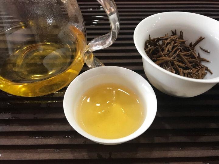 袍哥袍嫂 金骏眉红茶茶叶 野生红茶 武夷山正山小种茶叶  礼盒装 如意罐500g 晒单图