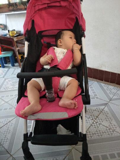 YUYU悠悠婴儿推车超轻便伞车可坐可平躺婴儿车避震便携儿童手推车 鸿羽款玫红色 晒单图
