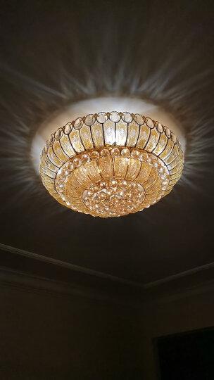 佛山照明(FSL)LED蜡尾泡水晶灯泡E14小螺口暖白光3000K 3W拉尾泡 明珠银色 晒单图