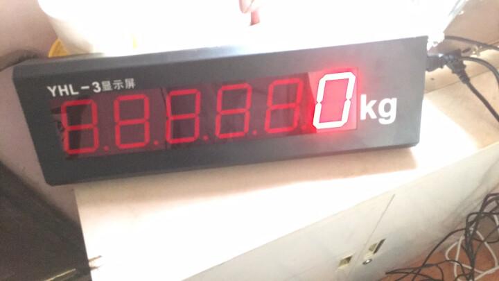 XK3190-a9地磅大屏幕YHL-3寸地磅显示器/YHL-5外接大屏幕 K7 LED点阵屏 晒单图