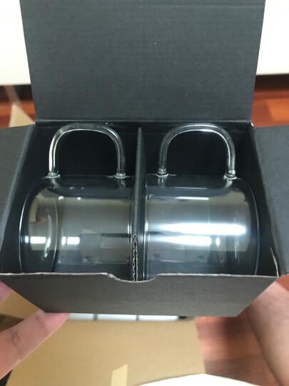 尚明(samaDOYO) 简约高硼硅耐热耐高温玻璃小茶杯冲泡器拍档 品茗杯咖啡杯 150ml 8只装 晒单图