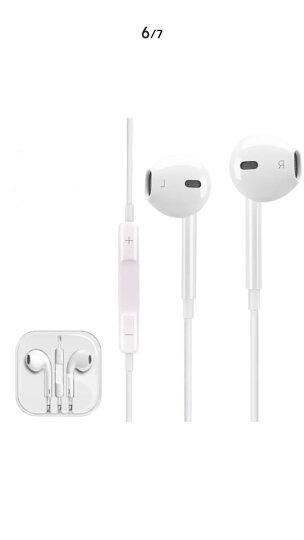 changni  手机耳机平头耳塞重低音 适用于 白色 全民k歌唱歌主播抖音快手游戏电脑安卓平板手机通用 晒单图