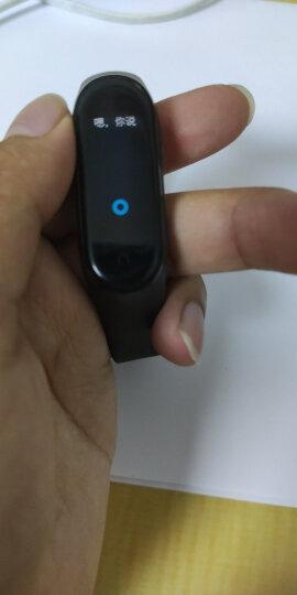 小米(MI)小米手环4 NFC可选睡眠监测心率智能支付运动跑步手环3男女腕带防水计步手表苹果手机适用 小米手环4 标准版 晒单图