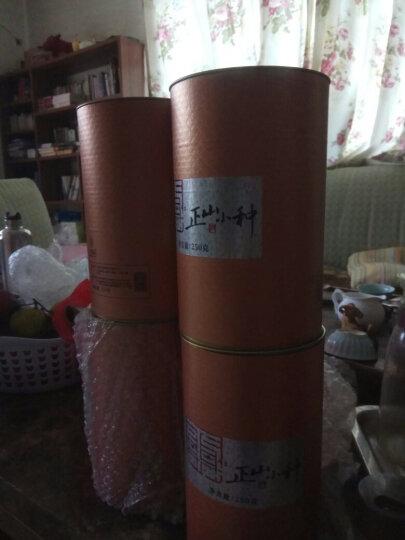 【京东出品】八享时正山小种250g 武夷山红茶 自营茶叶 经典罐装 晒单图