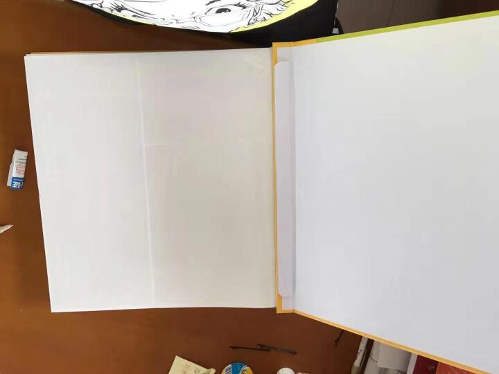 美记  麂皮绒面相册影集本 4寸240张 创意礼品礼物 微信手机竖版in拍立得打印照片收藏册 礼盒装(红色) 晒单图