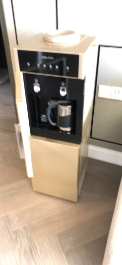 【下单抽电视机】安吉尔饮水机立式家用全自动电磁速热饮水机Y2488 冷热型 晒单图