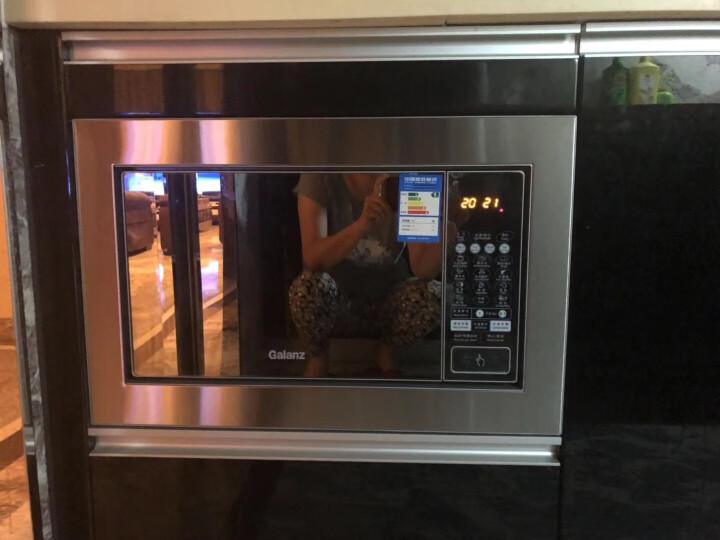 格兰仕嵌入式微波炉 光波炉 烤箱一体机 23L 平板 智能解冻 G80F23CN2P-QB(SO) 晒单图
