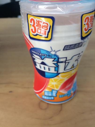 益达木糖醇无糖口香糖大瓶装清爽西瓜70粒98g单瓶装 零食糖果休闲食品 晒单图