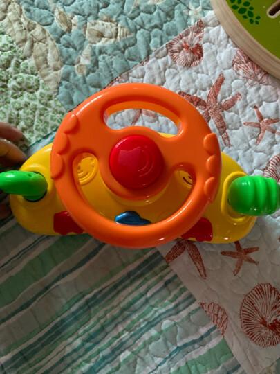 澳贝(AUBY)益智玩具儿童婴儿宝宝快乐方向盘仿真模拟汽车驾驶 男孩女孩玩具463416DS 晒单图