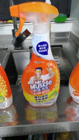 威猛先生 厨房重油污净 柠檬 500g+500g*2 油烟净 强效去油污厨房清洁剂 油烟机清洁剂(新老包装随机发) 晒单图