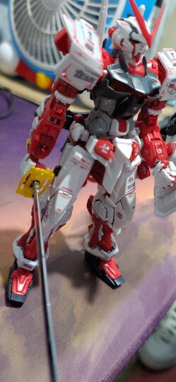 万代(BANDAI)高达模型 RG敢达拼装玩具 1/144 系列 RG 独角兽 漫画版 DE盾牌【送支架】 晒单图