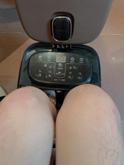 南极人(NANJIREN) 足浴盆全自动按摩泡脚盆深桶洗脚盆足疗器足疗盆加热泡脚桶 金色电动版 晒单图
