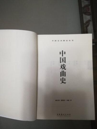 中国艺术简史丛书:中国戏曲史(修订版) 晒单图