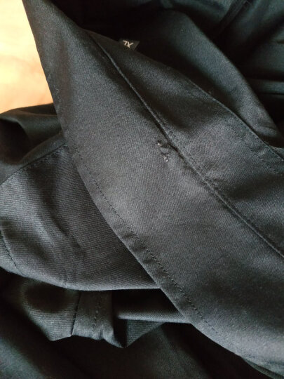 KLBZHE 长袖衬衫男2019秋季新款工作服职业正装商务衬衣休闲男士纯白色衬衫男 灰色丨长袖款 190/3XL 晒单图