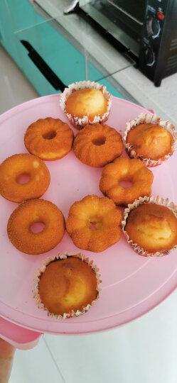 百钻蛋糕纸杯马芬杯子100个装 家用烘培小号蛋糕纸托工具 黄色小兔 晒单图