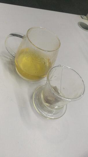 【三件式泡茶杯】物生物(RELEA) 蘑菇杯带盖玻璃茶杯过滤泡茶杯子双层耐热透明玻璃杯 蘑菇杯小号 晒单图