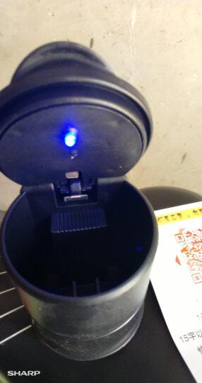 車格仕 车载烟灰缸带盖led灯 汽车用品创意通用车内杂物盒 梦幻银 福特福睿斯17款新翼虎野马 晒单图