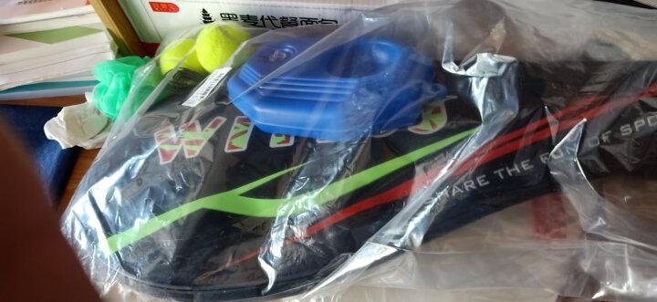 WITESS 网球拍碳纤维男女初学者套装(已穿线) 青春蓝绿单只网拍w-5025 晒单图
