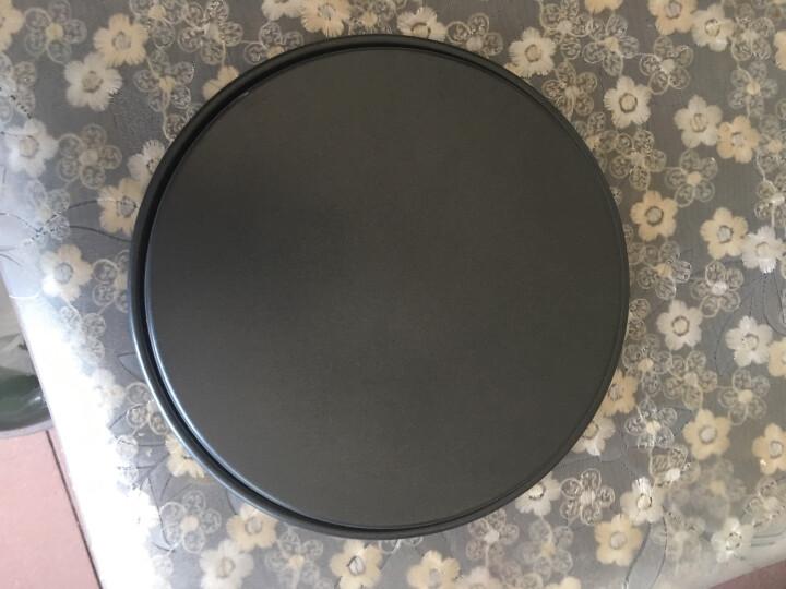千团精工 烘焙工具不粘9寸深披萨盘烤箱模具 家用圆形蛋糕烤盘 pizza盘 派盘 晒单图
