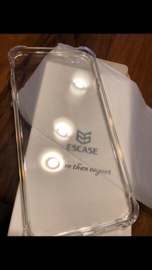 ESCASE手机壳 苹果iPhone 6splus手机 镜面手机壳 金属质感手机套 防摔手机壳软壳 适用5.5英寸 典雅玫瑰 晒单图